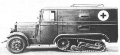 Polish Wz.34 all-terrain ambulance , pin by Paolo Marzioli