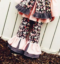 Bonnie's Princess Pants PDF Sewing Pattern by Create Kids Couture