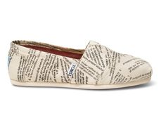 ... and these! Dictionary Quotes Women's Classics | TOMS.com #toms