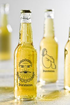 A really interesting branding project for Thorsteinn beer. I'm not entirely sure I actually like it as a branding project, but I do love the illustrations and type treatment.