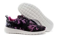 huge selection of 63ad5 815e4 UK Nike Roshe Run Womens Nagoya Marathon 2014 Black Vivid Pink Cheap  B38   Nike