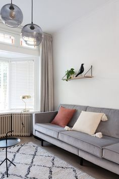 Scandinavian livingroom nude colours @styleandsugar | H O M E ...