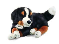 Steiff Siggi Bernese Mountain Dog: Soft Stuffed Plush Animal