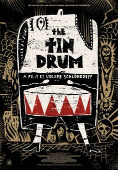 THE TIN DRUM (Volker Schlöndorff, West Germany, 1979) Designer: David Plunkert