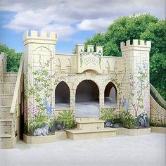 Woodland Princess Castle Bunk Bed from PoshTots
