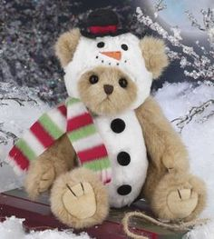 Bearington Frost E. Bear The Bearington Collection is a high-quality and truly affordable plush line loved by collectors worldwide. Teddy Bear Pictures, Christmas Teddy Bear, Boyds Bears, Bear Wallpaper, Love Bear, Cute Teddy Bears, Bear Toy, Barbie, Christmas Holidays