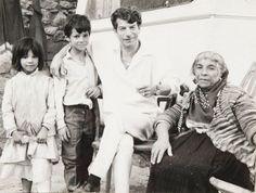 Legendary flamenco guitarist, Manitas de Plata [thus named by Picasso?] and family