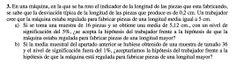 Ejercicio 3B 2003-2004 JUNIO. Contraste de hipótesis.  Pau de matemática para ciencias sociales, Canarias.
