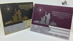 Every Blessing, Gold & Silver embossing powder, Winter Wonderland Vellum DSP Stack, Rhinestone - FMS 199 (exterior)
