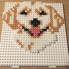 Dog hama beads by perlepige                                                                                                                                                                                 More