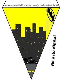 Batman in Black and Yellow: Free Party Printables. Batman Birthday, Batman Party, Superhero Party, Diy Birthday, Baby Batman, Lego Batman, Lego Marvel, Batman Printables, Party Printables