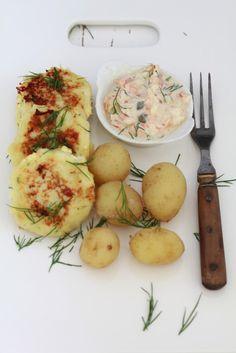 On Dine chez Nanou   Fiskefrikadeller ou croquettes danoises  de cabillaud          Il faut que je quitte le Danemark pour me décider à publier cette recette de Fiskefrikadeller...