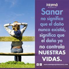 #TuEsencia Sanar no significa que el daño nunca existió, significa que el daño ya no controla nuestras vidas.   #FelizLunes #BuenosDías #MujerFeliz #optimismo