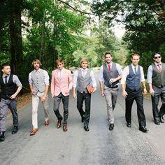 These guys are lookin' classy #wedding #groomsmen #groom