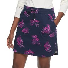 Plus New $34-$40 CROFT /& BARROW Womens SKORT Classic Fit Regular Petite Sizes