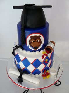 Belmont Bruins by Karen's kakes, via Flickr