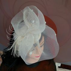 JCN - Fascinators and Little Hats: JCN Bridal Collection