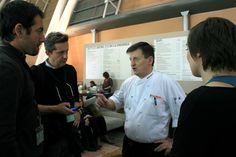Giovanni Grassi con il team digital - ph. C. Pellerino