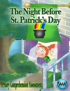 ONLY $1!! Check out our new product - The Night Before St. Patrick's Day Story Comprehension Assessment! This comprehension assessment accompanies the book, The Night Before St. Patrick's Day by Natasha Wing. It includes questions formatted in standardized test style that address various reading skills, and it's perfect for the teacher who wants to read a fun story during St. Patrick's Day week but still needs to make sure important, educational content is being covered.