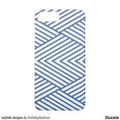 stylish stripes iPhone 7 plus case
