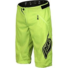 Product review for Troy Lee Designs Sprint Shorts - Boys' Flo Yellow, 26 - We get that it's scary dropping him off at the trailhead, but the Troy Lee Designs' Boys' Sprint Short provides you with some peace of mind in the face of inevitable spills. That's because TLD put heavy-duty 600D polyester where protection is paramount, and breathable,...