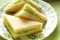 Learn to make traditional finger sandwiches with this collection of English tea sandwich recipes. It includes cucumber tea sandwiches, salmon finger sandwiches and more.