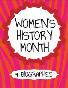 FREE Women's History Month activities. Read about 14 little-known and important female historical figures. Perfect for any grade (5-12) for ELA or Social Studies. Pair the 9 full-page articles about 14 important women in history with 2 reusable reading response worksheets to teach reading literature and informational text common core skills! The articles and activities can be completed independently with older students or as a whole-class activity with younger students.