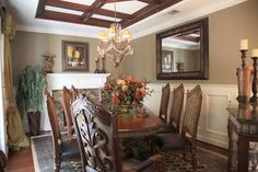 old world,tuscan,mediterranean decor   Tuscan Dining Room Design Ideas, Pictures, Remodel, and Decor