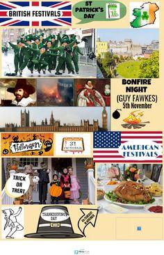 British festivals | @Piktochart Infographic