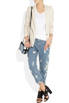 Another cute blazer / jeans combo