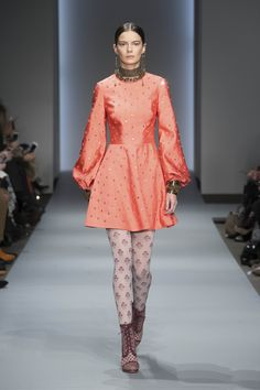Karmic Embroidered Mirror Dress, Stamp Floral Stockings, Weave Ankle Boot