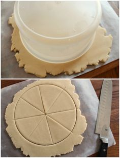 Cutting Pizza Cookies