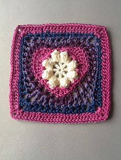 365 Granny Squares Project: February 2013