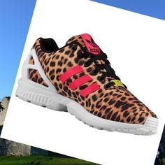 differently 39a4b fe134 Adidas Zx Flux, Casual Shoes, Sneakers Fashion, Black, Red And White,