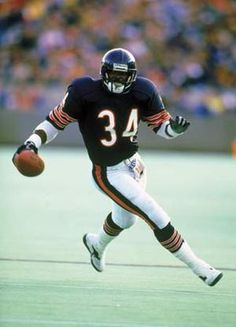 Walter Payton - Sweetness - The greatest football player of all time!  He is missed!