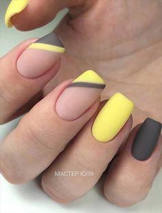 - Acrylic short square nails design for summer nails, Short square nails color ideas, Natural gel short square nails design, Pretty and cute acrylic nails design Cute Acrylic Nails, Acrylic Nail Designs, Cute Nails, Nail Art Designs, Gel Nails, Nails Design, Nagellack Design, Short Square Nails, Pretty Nail Art