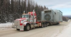 Discover Silvertip Oilfield Services Inc.'s bed truck, picker truck, vacuum truck, steamer truck and oilfield truck hauling services– helping Alberta thrive. Heavy Duty Trucks, Heavy Truck, Big Trucks, Heavy Construction Equipment, Heavy Equipment, Hauling Services, Oil Jobs, Low Deck, Trucks
