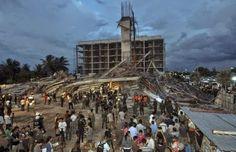 Desabamento de prédio na Tailândia deixa três mortos e 17 feridos