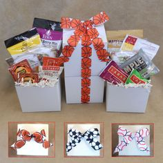 31fd1af77b2ae Paleo Sports Snacks Mini-Tower- They ll score big with two tiers of snack  sized paleo goodies! Paleo Gift Baskets