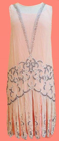 All The Pretty Dresses: 1920s розовый