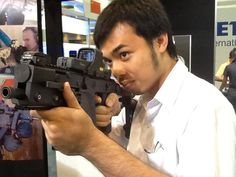 National Security & Defense, Thailand  Me with Kriss Super-V