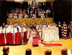 Coronation of Queen Elizabeth II (colorized)