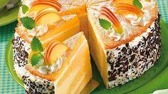 Apfelcreme-Schicht-Torte