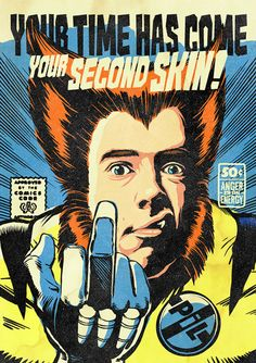 Your favourite post-punk stars as comic book heroes | Gigwise