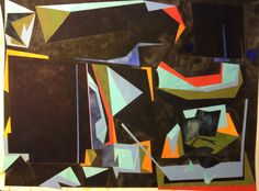 Illusion Mechanism. Watercolour, Gouache, Acrylic, Pencil. Painting on A1 Fabriano paper.