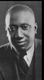 James P. Johnson, 1910s stride piano player.