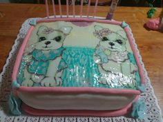 Torta perritos Simones!