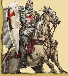 Templar Knight fighting a barbarian - Google Search