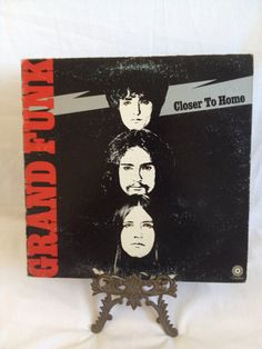 Vintage Record Grand Funk Railroad Closer to by FloridaFinders, $6.00