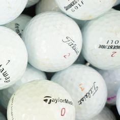 Premium B Grade Mix - (Pro V1, Penta, Tour, AD333, Soft Feel etc)  Currently being sold for just 30p per ball! Limited stock!  http://www.greengolfonline.co.uk/premium-b-grade-mix-pro-v1-penta-tour-ad333-soft-feel-etc/